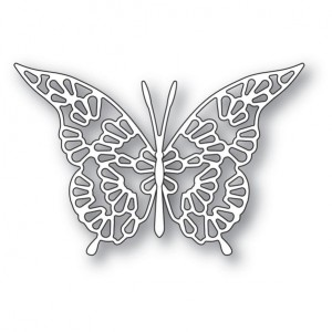 Memory Box Stanzschablone - Lace Butterfly