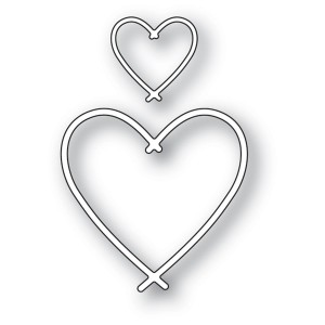 Memory Box Stanzschablone - Bundle Hearts