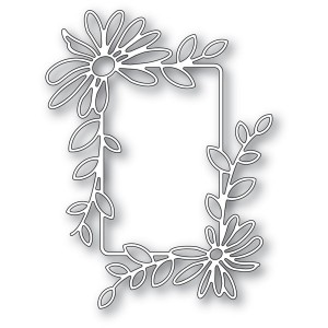 Memory Box Stanzschablone - Daisy Flower Frame