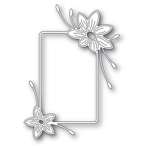 Memory Box Stanzschablone - Starflower Flower Frame - 20% RABATT