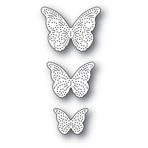 Memory Box Stanzschablone - Pinpoint Butterfly Trio