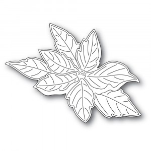 Memory Box Stanzschablone - Ruffled Poinsettia