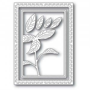 Memory Box Stanzschablone - Simple Poinsettia Frame - 20% RABATT