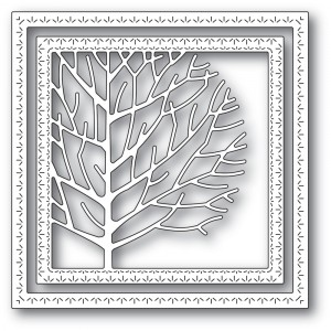 Memory Box Stanzschablone - Winter Tree Frame