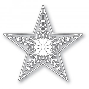 Memory Box Stanzschablone - Chandele Star