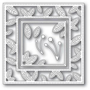 Memory Box Stanzschablone - Petite Leaf Frame