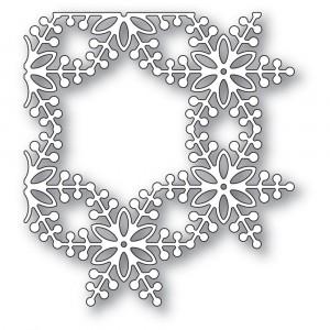 Memory Box Stanzschablone - Bauble Snowflake Corner - 20% RABATT