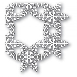 Memory Box Stanzschablone - Bauble Snowflake Corner