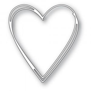 Memory Box Stanzschablone - Tall Sketch Heart