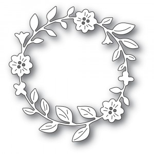Memory Box Stanzschablone - Bellfower Circle Wreath