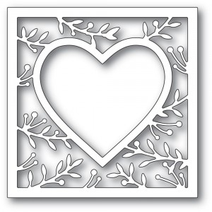 Memory Box Stanzschablone - Lavonia Heart Frame