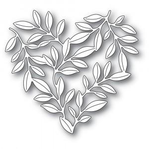 Memory Box Stanzschablone - Leafy Heart