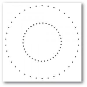 Memory Box Stanzschablone - Stitched Circle