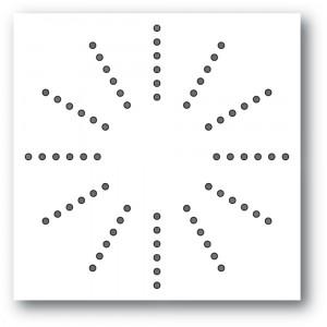Memory Box Stanzschablone - Stitched Burst