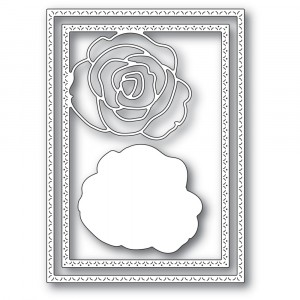 Memory Box Stanzschablone - Classic Rose Frame
