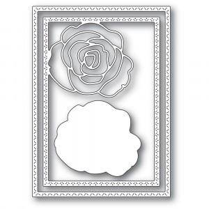 Memory Box Stanzschablone - Classic Rose Frame