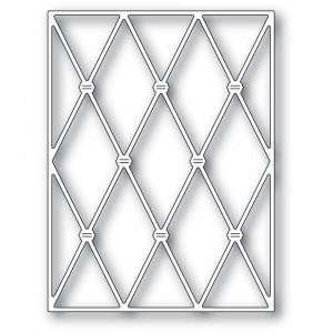 Memory Box Stanzschablone - Knotted Diamond Background