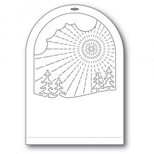 Memory Box Stanzschablone - Radiant Snowglobe