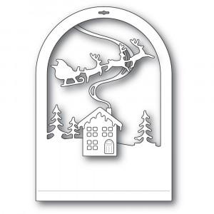 Memory Box Stanzschablone - Cabin Snowglobe