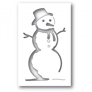 Memory Box Stanzschablone - Charming Snowman Collage