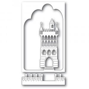 Memory Box Stanzschablone - Fantasy Castle Collage
