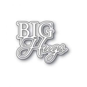 Memory Box Stanzschablone - Big Hugs Posh Script