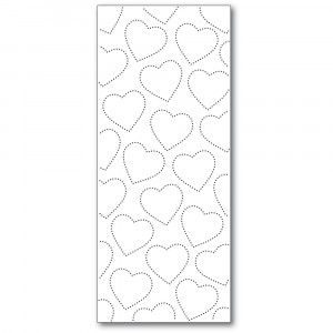 Memory Box Stanzschablone - Slim Pinpoint Heart Plate
