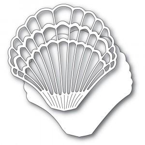 Memory Box Stanzschablone - Grand Scallop Shell