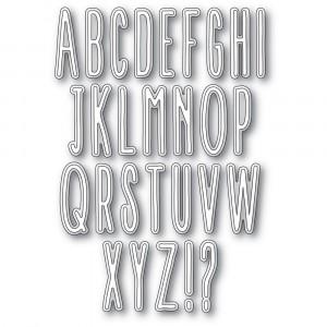 Memory Box Stanzschablone - Twiggy Alphabet