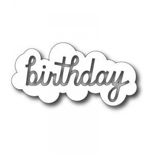Memory Box Stanzschablone - Birthday Cloud