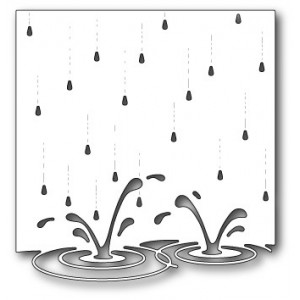 Memory Box Stanzschablone - Splashing Puddles