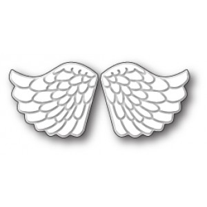 Memory Box Stanzschablone - Embossed Angel Wings
