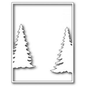 Memory Box Stanzschablone - Cascade Evergreen Frame