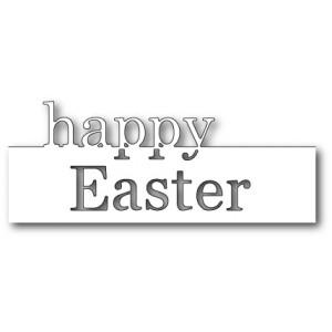 Memory Box Stanzschablone - Grand Happy Easter