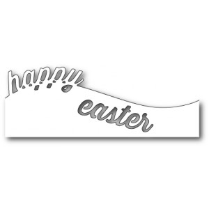 Memory Box Stanzschablone - Curved Happy Easter