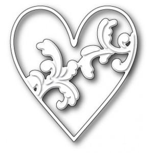 Memory Box Stanzschablone - Elliana Heart