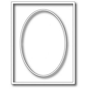 Memory Box Stanzschablone - Oval Master Frame