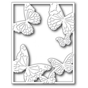 Memory Box Stanzschablone - Hovering Butterfly Frame