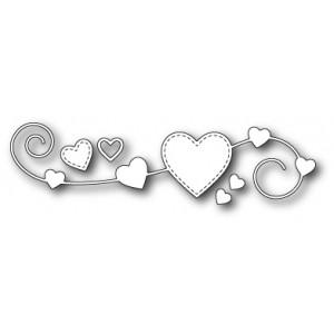 Memory Box Stanzschablone - Homespun Heart