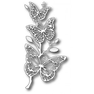 Memory Box Stanzschablone - Colette Butterfly Branch