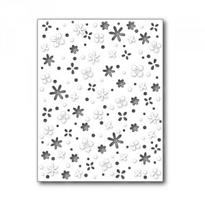 Memory Box Stanzschablone - Flower Meadow Background