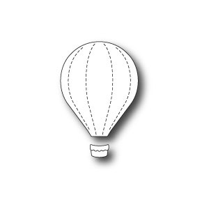 Memory Box Stanzschablone - Little Hot Air Balloon