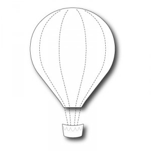 Memory Box Stanzschablone - Grand Voyage Balloon