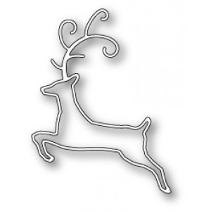 Memory Box Stanzschablone - Sketch Deer
