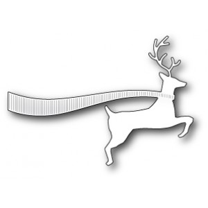 Memory Box Stanzschablone - Swift Reindeer