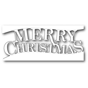 Memory Box Stanzschablone - Fancy Merry Christmas Channel