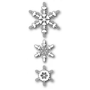 Memory Box Stanzschablone - Loop Snowflake Trio