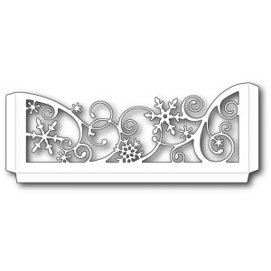 Memory Box Stanzschablone - Snowflake Scrollwork Sleeve