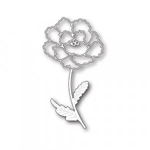Memory Box Stanzschablone - Blooming Peony Stem