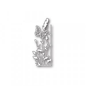 Memory Box Stanzschablone - Small Lavender Butterfly Right Corner